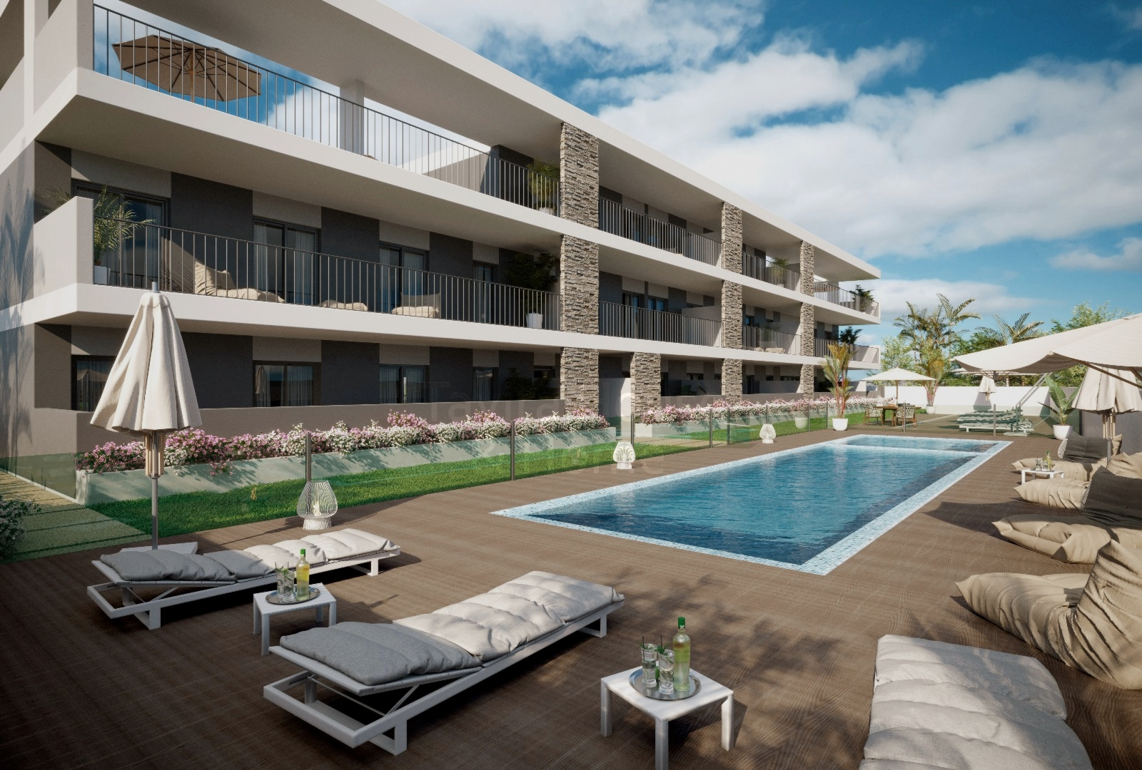 A0558 - 2 Bedroom Apartments With Pool  Cabanas  Tavira  Portugal