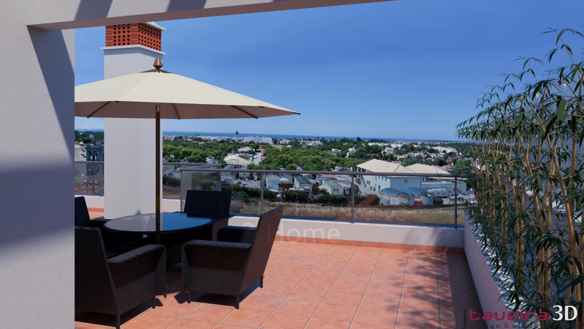 A0627 - 1 Bedroom Apartment With Roof Terrace  Conceição  Tavira  Portugal