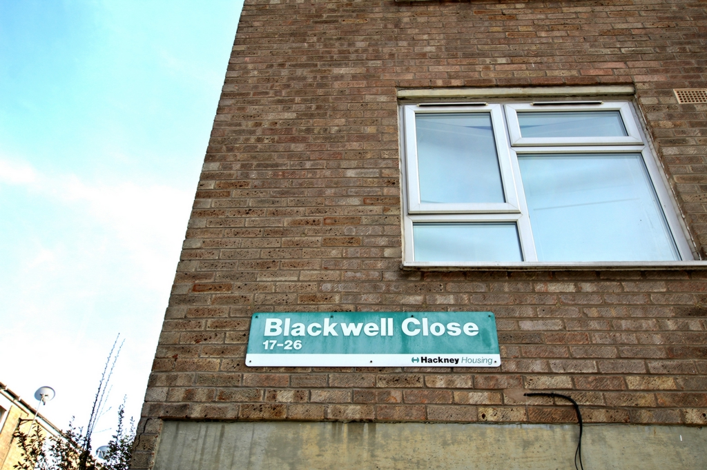 Blackwell Close  Hackney  E5
